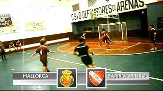 preview picture of video 'Torneo Inicial 2014 - Cuartos de Final (IDA) - Mallorca Vs Barrio Obrero'