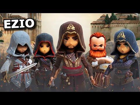 Asasíni v kapse! Assassin's Creed Rebellion [MOBIL]