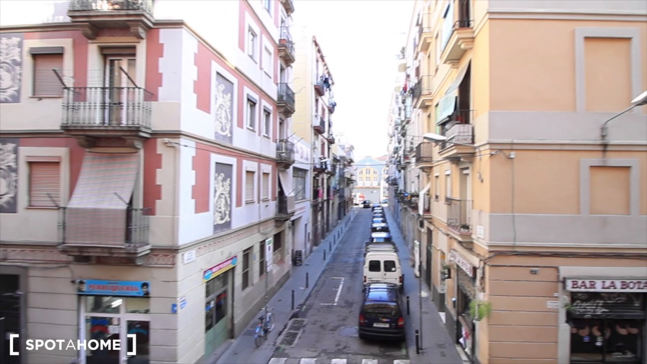 Fully furnished 2-bedroom apartment for rent in Poble Sec
