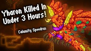Calamity Speedrun: Yharon Killed In Under 3 Hours!