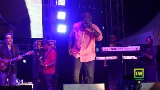 Freddie McGregor performing at Bob Marley 70