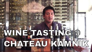 Macedonian Wine tasting at Chateau Kamnik