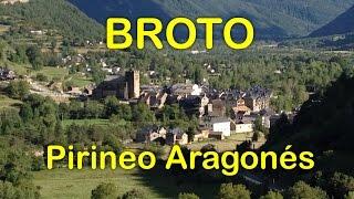 preview picture of video 'BROTO, Pirineo Aragonés.  Cascada de Sorrosal'