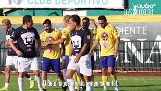 Juego de Leyendas en Campeche entre el América y Pumas