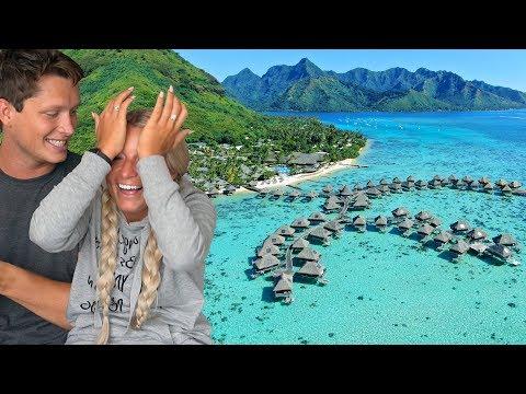 GIRLFRIEND'S DREAM VACATION SURPRISE (Bora Bora)