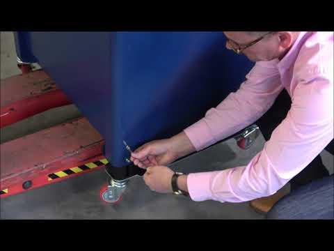 Ampag Speed: Ändra maskinens höjd