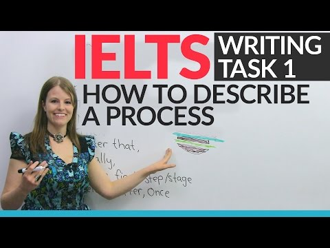 IELTS Writing Task 1: How to describe a process