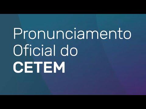 CETEM - Pronunciamento Oficial COVID19