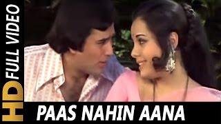 Paas Nahin Aana | Lata Mangeshkar, Kishore   - YouTube