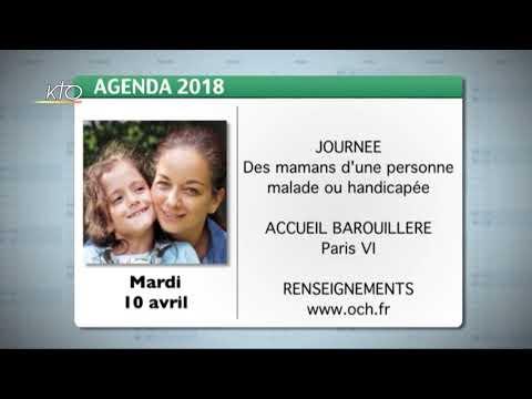 Agenda du 29 mars 2018