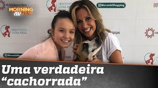 Mundo cão: Luísa Mell X Larissa Manoela