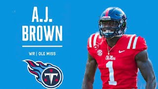 "AJ Brown - Welcome To the Tennessee Titans // ""Old Town Road"" ᴴᴰ 