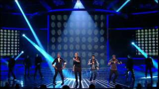 JLS :: X Factor live :: Everybody in Love