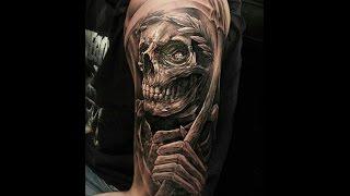 Reaper Tattoos For Men