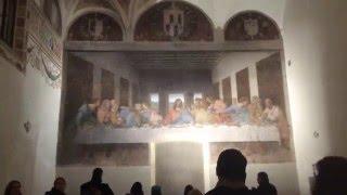 Milan, 09.01.16, (in Armenian) The Last Supper, Naviglio Grande