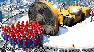 gta 5 spiderman - TH-Clip