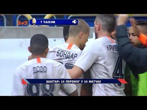 СК Дніпро-1 - Шахтар - 0:2. Відео-огляд матчу