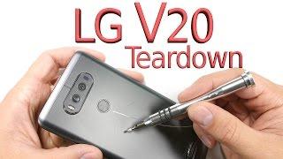 LG V20 Teardown - Screen repair, Battery Swap, Charging port fix