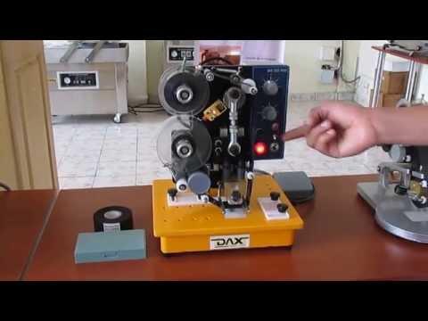 COARA : Funcionamiento de Fechador - Codificador semiautomático P600