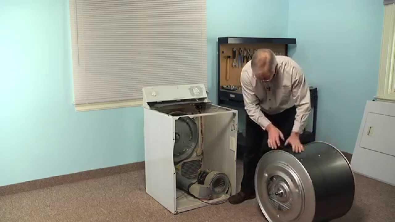 Replacing your General Electric Dryer Drum Belt