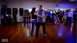 "Westify Saturday Night Fever - ""Demo of the Stars"" - John Lindo & Jessica Cox"