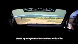 preview picture of video 'Veszprém Rallye 2014. Marozsi Zs. - Szeles P. Gy8.'