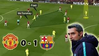 A Hard Fought Barca Victory | Man United Vs Barcelona 0-1 | Tactical Analysis