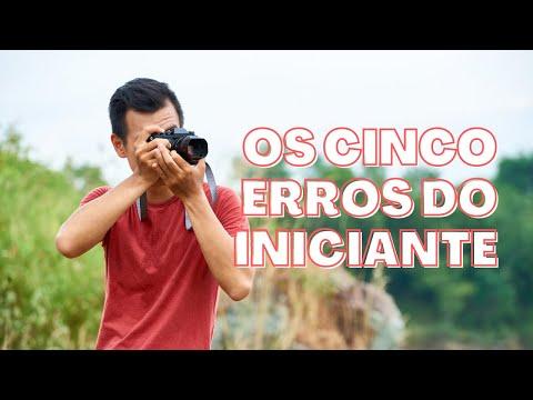 CINCO ERROS QUE TODO INICIANTE COMETE [FOTOGRAFIA]