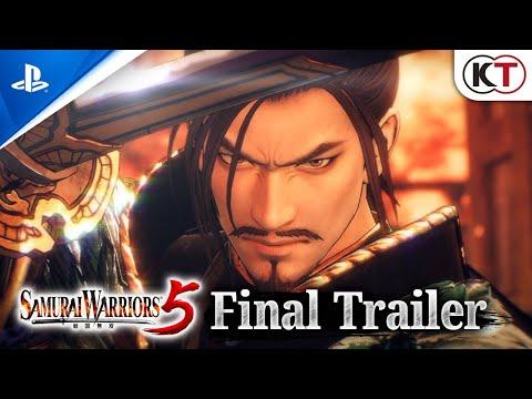 Musique de la pub PlayStation Samurai Warriors 5   Bande-annonce finale   PS4 Mai 2021