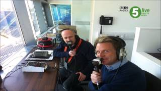 Johnny Barran and Kevin Howells on BBC 5 Live Sports Extra