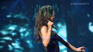 Zlata Ognevich - Gravity (Ukraine) impression of second rehearsal