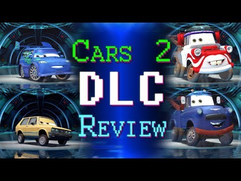 PS3 Cars 2 DLC Character Pack # 1 Mater Ivan Kabuki Hugo Review With DCTC ZerO