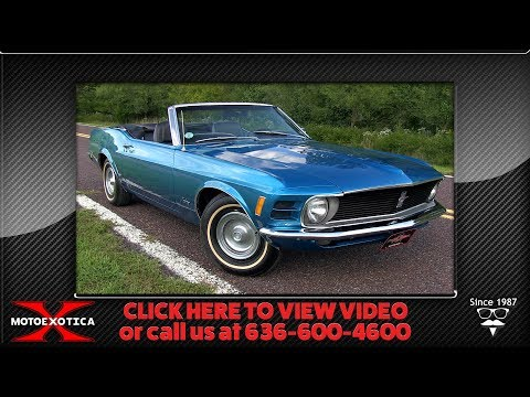 Video of '70 Mustang - OKR3
