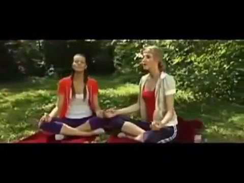 Новый урок Йога - прикол девчонок.