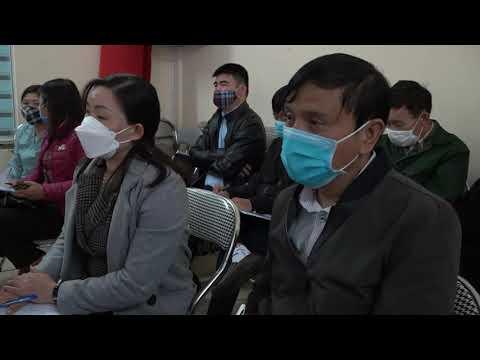 Tập huấn nghiệp vụ công tác công đoàn tại huyện Si Ma Cai