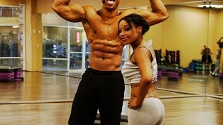 15 Minutes Legs and Abs Workout by Brandon Carter