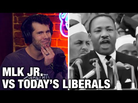MLK Jr. vs. Today's Liberals | Louder with Crowder (видео)
