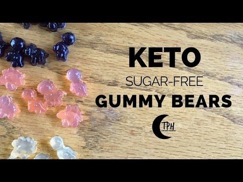 3 Keto Gummy Bear Recipes   Sugar-Free Gummy Candy