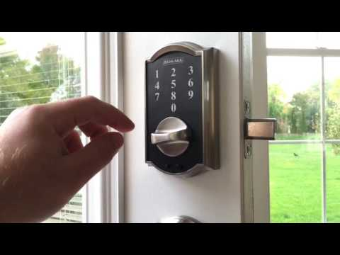 [RESOLVED] Big Security issue with Schlage BE375 electronic touch locks