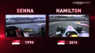 Lewis Hamilton  Ayrton Senna C Omparison Monaco
