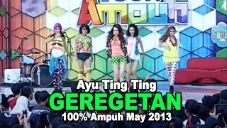 Gambar cover Ayu Ting Ting   Geregetan 100% Ampuh May 2013