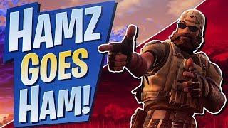 HAMZ GOES HAM! 15 KILL SOLO WIN (Fortnite BR Full Game)