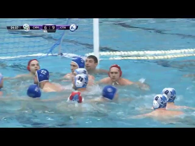 Массовая драка во время матча Суперлиги по водному поло