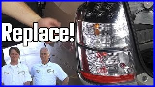 How to Replace a Brake Light Toyota Prius
