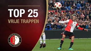 TOP 25 FREE KICKS | #FeyenoordThuis