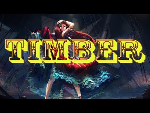 Nightcore - Timber - 1 Hour Version [Request]
