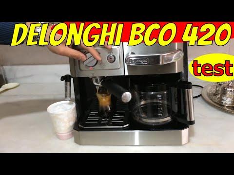 NEW delonghi bco 420 review inceleme coffee machine espresso latte machiato makinesi filtre kahve