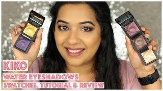 KIKO Water Eyeshadows - Review & Swatches