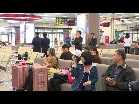Premier Lai inspects Lunar New Year travel preparations at Songshan Airport