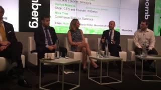 Carlos Moreira presenting at the Bloomberg Technology Conference: Smarter Cities
